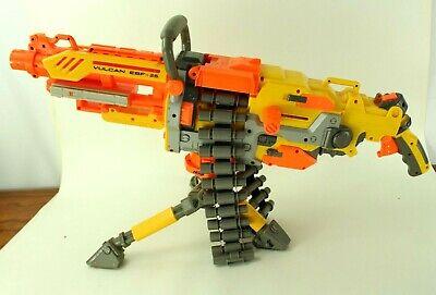 Nerf Vulcan EBF-25 Blaster N Strike Machine Gun w/ Tripod Ammo Belt