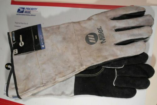 Miller industrial Mig Stick Welding Gloves XL 249198 Arc Armor
