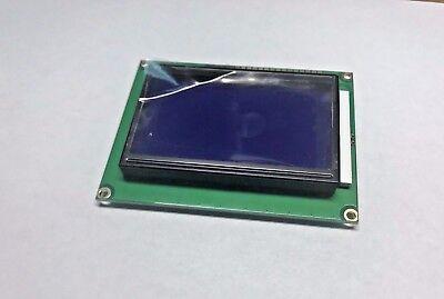 (5V 12864 LCD Display Module 128x64 Dots Graphic Matrix LCD Blue Backlight A464)