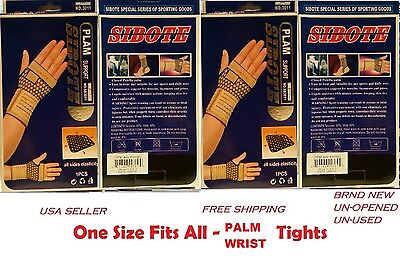Palm Wrist 2x Hand Brace Pain Relief Elastic Support tendonitis carpal tunnel