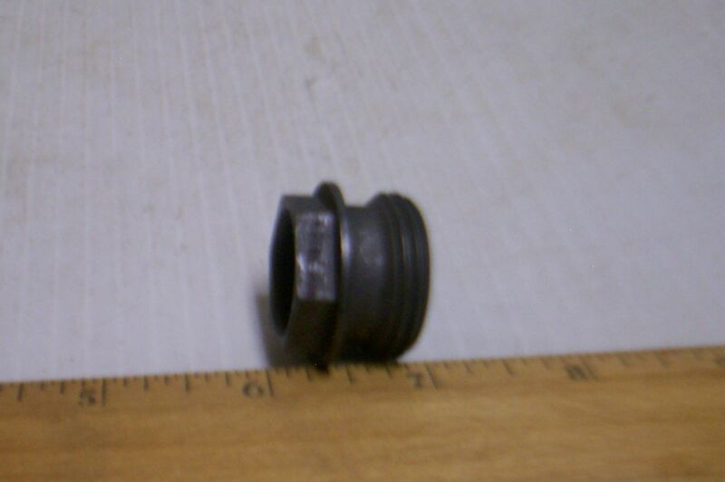 Rubbercraft Corporation - Tube Coupling Inverted Nut - P/N: 4184-12 (NOS)