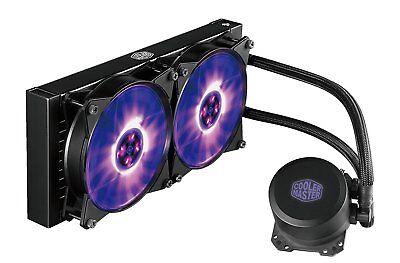 CPU-Kühler/Wasserkühlung Cooler Master MasterLiquid ML240L RGB 1151 1155 AM3