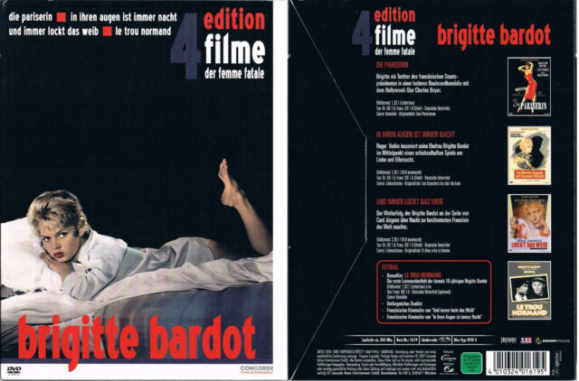 BRIGITTE BARDOT EDITION --- 4 Filme --- Boxset --- Rarität ---