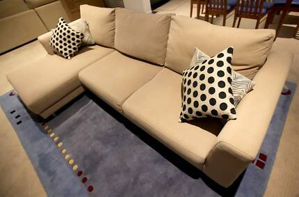 Three Seater with Chaise Bundall Gold Coast City Preview