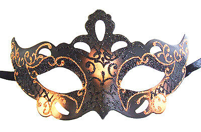 Mask Goth Samba Copper Mardi Gras Mask Venetian Halloween Costume Masquerade](Samba Halloween Costume)