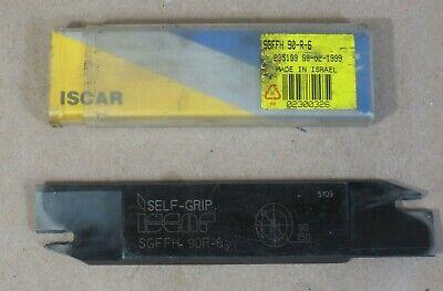Iscar Face Grooving Blade Sgffh 90-r-6 Self-grip Made In Israel