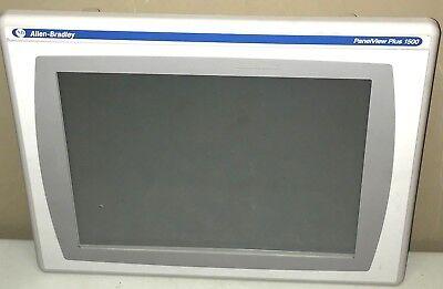 Allen Bradley 2711p-t15c4d9 A Panelview Plus 1500 Touchenetrs232 Rdt15c Rp9d