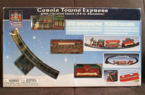 Lemax Carole Towne Express Christmas Train Set