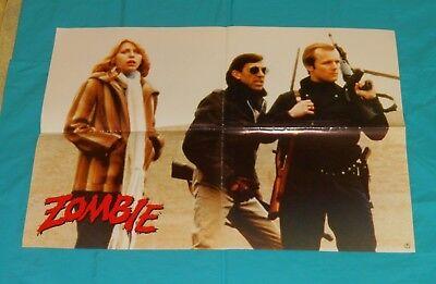 original German DAWN OF THE DEAD movie poster
