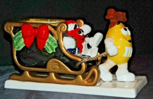 M & M Christmas Sleigh by FTD AA20-7264 Vintage