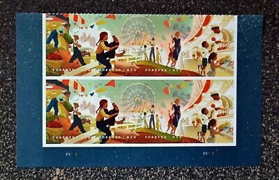 2019USA #5401-5404 Forever State & County Fairs - Plate Block of 8  Mint