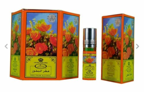 BAKHOOR+Perfume+Oil%2F+Attar+By+Al+Rehab+6x6ml+Bottles