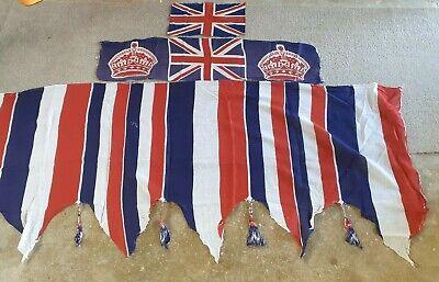 Vintage Queen Elizabeth Coronation Bunting