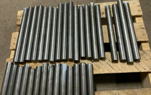 """12L14 Steel Bar Stock 1 in Round x 10"""" -11.50"""" in Long  (1 PC)"""