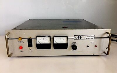 Sorensen Q Nobatron Qsb12-30 Rackmount Power Supply Raytheon Company