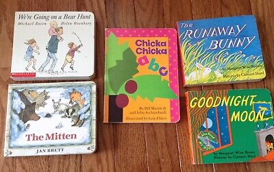 Infant & Toddler Best Seller Board Books Chicka, Mittens, Goodnight Moon,