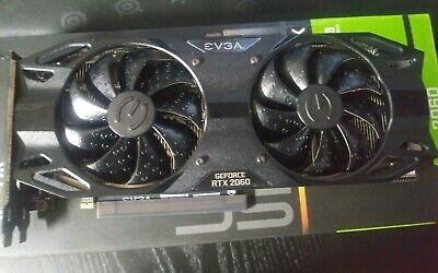 EVGA NVIDIA GeForce RTX 2060 SC Ultra Back Gaming 6GB GDDR6 Graphics Card