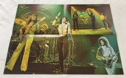 1977 QUEEN Mercury Taylor May Swedish Poster Magazine 1970s VINTAGE RARE