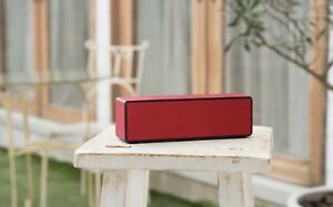 Sony SRSX33 Powerful Portable Bluetooth Speaker(Red)