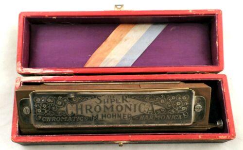 The Super Chromonica M. Hohner Chromatic Harmonica - Made In Germany