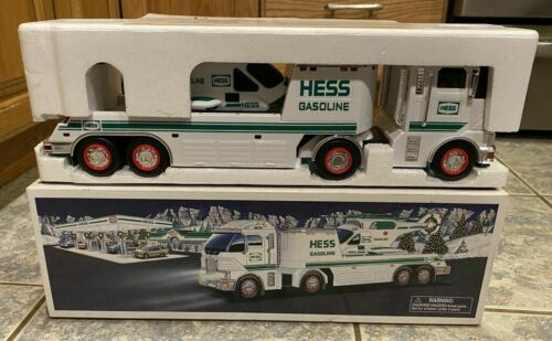 NIB/NOS Hess Toy Truck 2006 Toy Truck With Helicopter MINT!