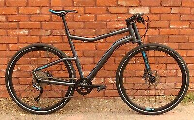 Cannondale Contro 4 Hybrid/Commuter Bike - XL - 700c - Alivio 1x9 - Disc Brakes