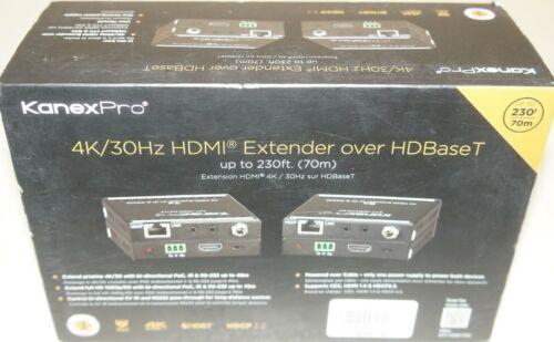 New Kanex Pro EXT-HDBT70C 4K/30 HDMI Extender over HDBaseT w/Bi-Directional