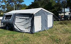 12ft CAMPER TRAILER WITH FULL ANNEXE Burpengary Caboolture Area Preview