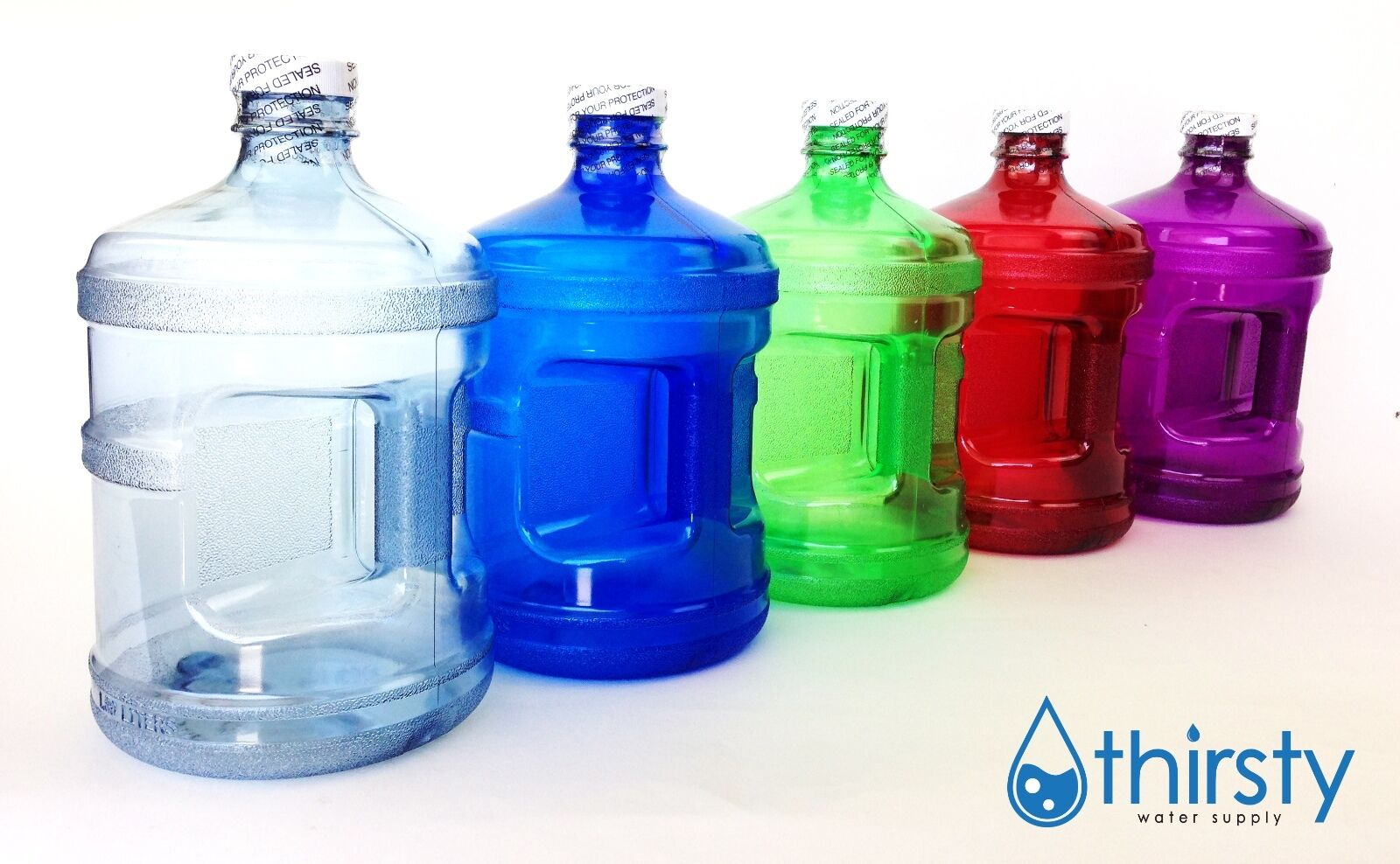 Water Bottle Half Gallon Drinking Gym Canteen Jug Container