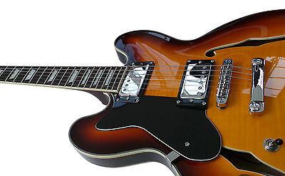 ES335 Semi Acoustic Guitar Left Handed Jazz Blues semi electric lefty Pack