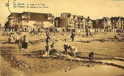 CPA - Belgique -  De Panne - La Panne - La Digue et la Plage