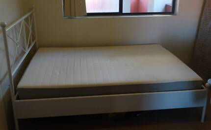 2 Beds with 2 Mattresses (IKEA) in very good condition Homebush West Strathfield Area Preview
