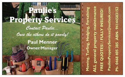 Paulie's Property Services