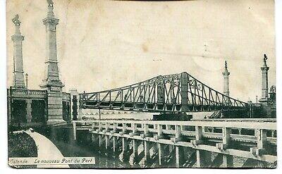 CPA - Carte Postale - Belgique - Ostende - Le Nouveau Pont du Port - 1908 (I1002