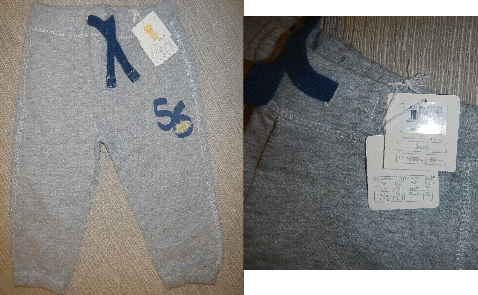 Pantaloni Cotone Fagottino OVS 12 - 18 Mesi 80 Cm - Natale - 4,00€