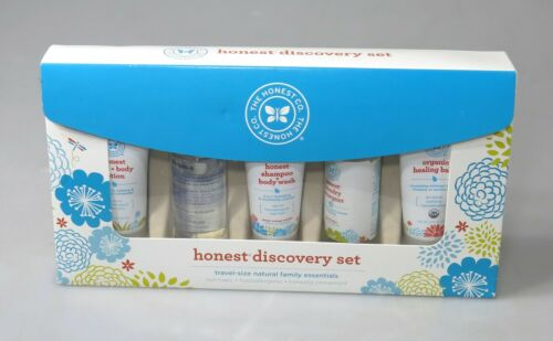 The Honest Company Discovery Gift Set - Travel Size Natural Family Essentials