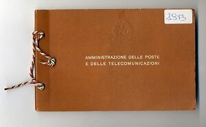 1973 ITALIA libretto ufficiale Amministrazione poste e telecomunicazioni - Italia - 1973 ITALIA libretto ufficiale Amministrazione poste e telecomunicazioni - Italia