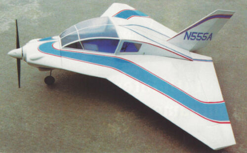 1/7 Scale Dyke Delta Homebuilt Airplane Plans,Templates and Instructions 40ws