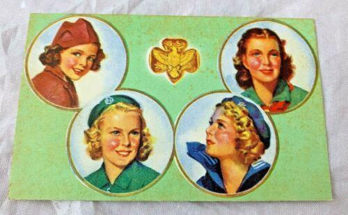 1942 Girl Scout Certificate of Membership Card - Beatrice, Nebraska - Ephemera
