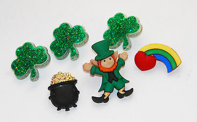 Pot of Gold / St. Patrick's Day Buttons w Leprechaun / Pot of Gold / Dress Is Up - St Patrick's Day Dress
