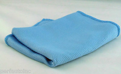 MICROFIBER GLASS CLEANING TOWEL WINDOWS MIRRORS CHROME 26-857 SM ARNOLD DETAIL