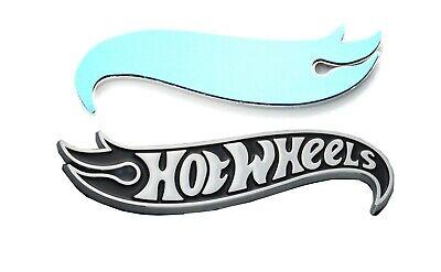 1x (Right) HotWheels Edition Deck Lid Emblem Badge Chevy Camaro Chrome Black