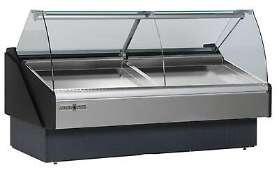 Hydra-kool Kfm-sc-50-s Seafood Case Curved Glass Curved Front 52-18w