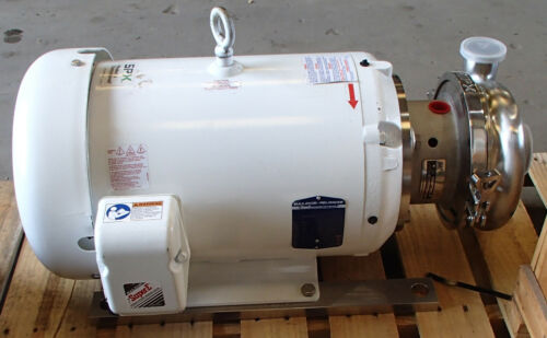 Waukesha Cherry Burrell Centrifugal pump with Baldor 20hp 3520rpm motor New Surp