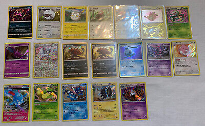 Lot of 19 Pokemon Cards Holo Promos And More