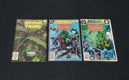 SWAMP THING #49, 50 & ANNUAL 2 COMIC BOOK LOT 1ST JUSTICE LEAGUE DARK