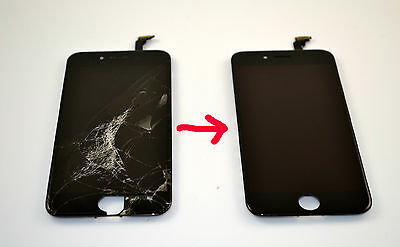 SEND US 10 - iPhone 6 Cracked Glass Screen Repair Refurbish Service OEM