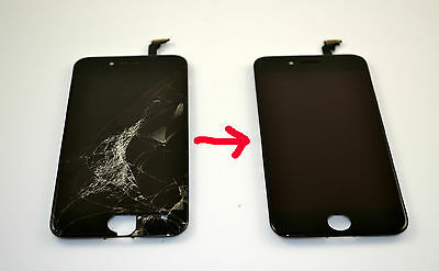 iPhone 6 Cracked Glass Screen Repair Replacement Refurbish Service OEM