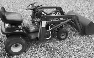 Acreage Garden Tractor WIth Front End Loader