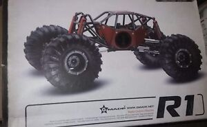 Gmade r1 crawler kit and gmade cmx truck chassis kit